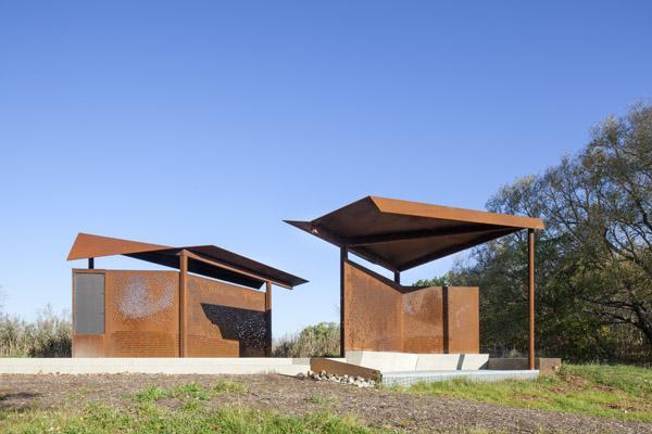 Viewing Pavilion, Image Courtesy © Steven Evans Photography