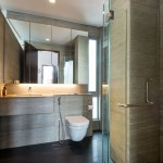 Master bathroom room with ample natural lighting, Image Courtesy © IX Architects Pte Ltd