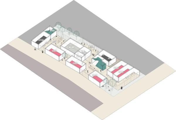 Hostel 54/1: ground floor diagram, Image Courtesy © Hypothesis