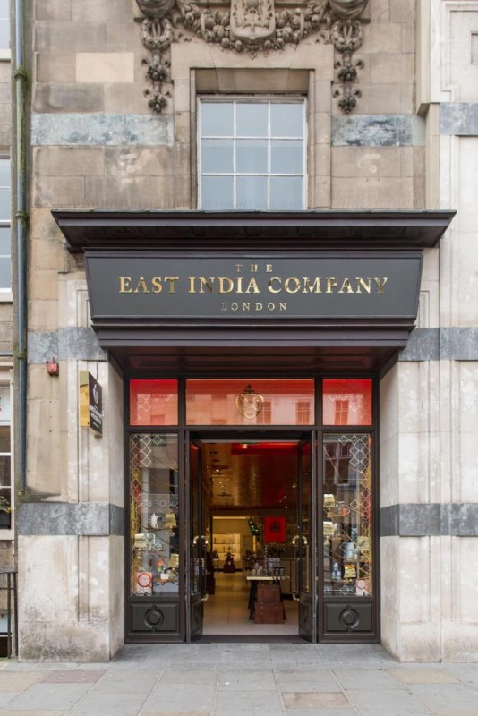 The East India Company Scottish flagship store, Edinburgh, Image Courtesy © Kate Berry