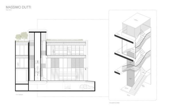 Section Plan, Image Courtesy © Sordo Madaleno Arquitectos