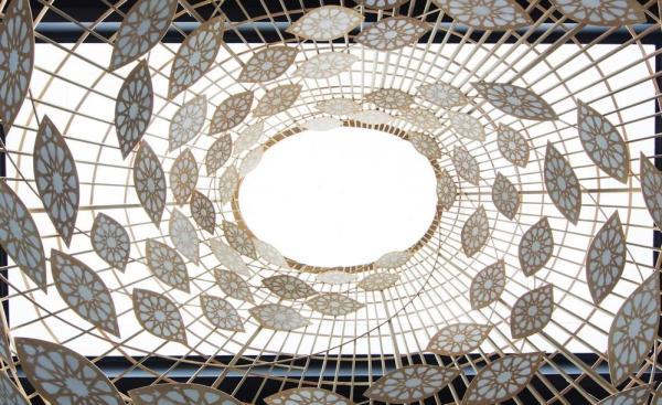 Dome desing creates an absorbent vortex, Image Courtesy © Alfonso Calza