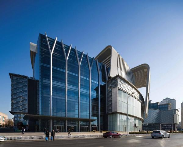 External view, Image Courtesy © Aedas