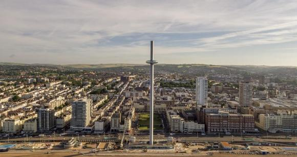Image Courtesy © British Airways i360/Visual Air