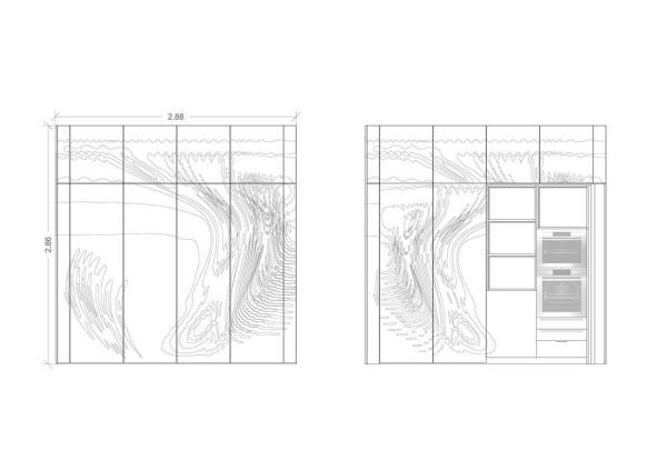 Elevation 1, Image Courtesy © ggarchitects