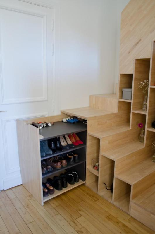 Drawer in staircase, Image Courtesy © Mickaël Martins Afonso