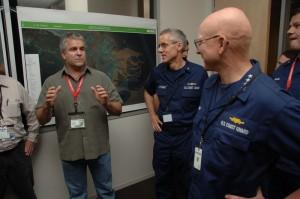 Drew with US Coast Guard Commandant Admiral Robert Papp  Drew with US Coast Guard Commandant Admiral Robert Papp