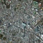 Shibuya, Tokyo, February 26 - courtesy DigitalGlobe
