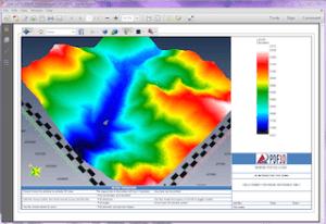 Utah elevation model
