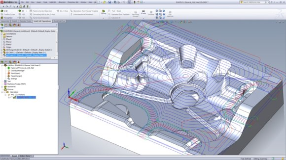 SolidCAM 3-Axis iMachining