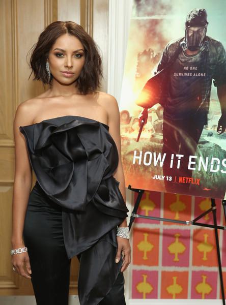 Kat Graham Photos Photos    How It Ends  New York City Screening      How It Ends  New York City Screening