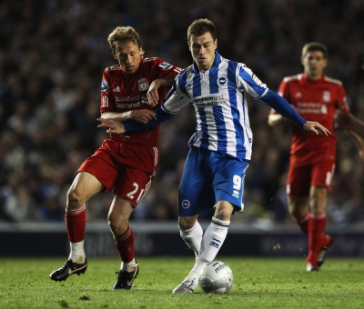 Brighton & Hove Albion v Liverpool - Carling Cup Third Round - Zimbio