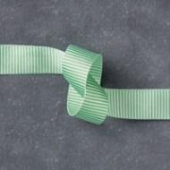 Cucumber Crush 5/8 (1.6 cm) Mini Striped Ribbon