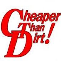 Cheaper than dirt free shipping coupon code 2018