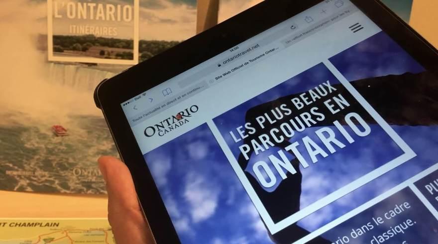 «Les instances gouvernementales de l'Ontario sont en train de mettre les bouchées doubles pour développer l'achalande touristique dans les marchés francophones», dit Alain Brosius, du RDÉE-Ontario.  Étienne Fortin-Gauthier