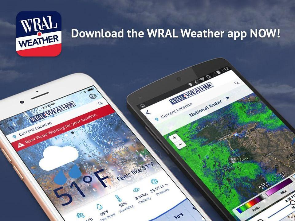 Download the WRAL Weather app    WRAL com