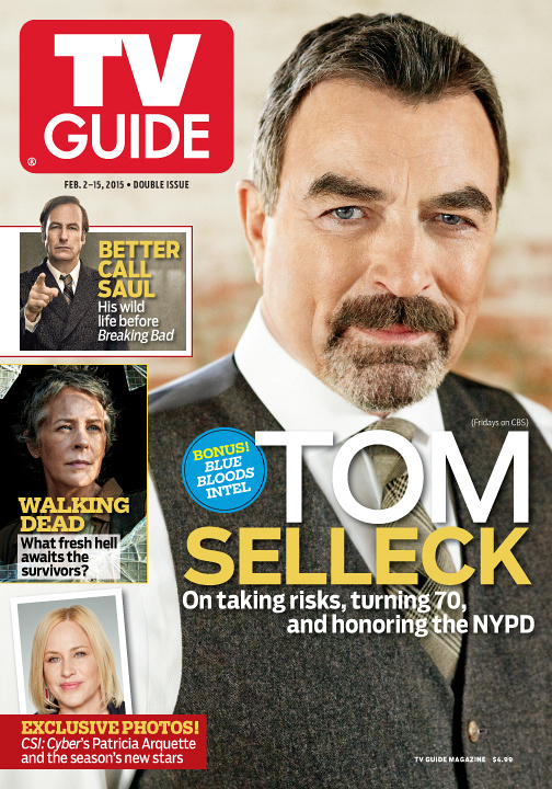 Tom Selleck on the Cover of TV Guide  First Look   CBS com