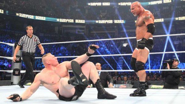 نظرة على الأسبوع: مفاجآت سيرفايفر سيريس Bill-Goldberg-and-Brock-Lesnar-at-Survivor-Series-1024x576-2-1024x576