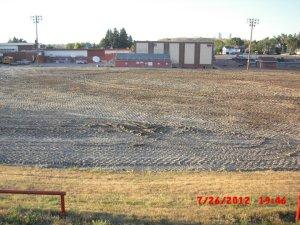 Lusk football field