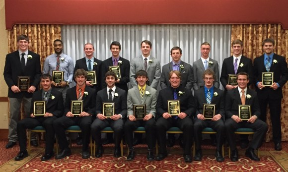 NFF Wyoming Chapter scholar-athlete award winners. Photo courtesy Ernie Over.