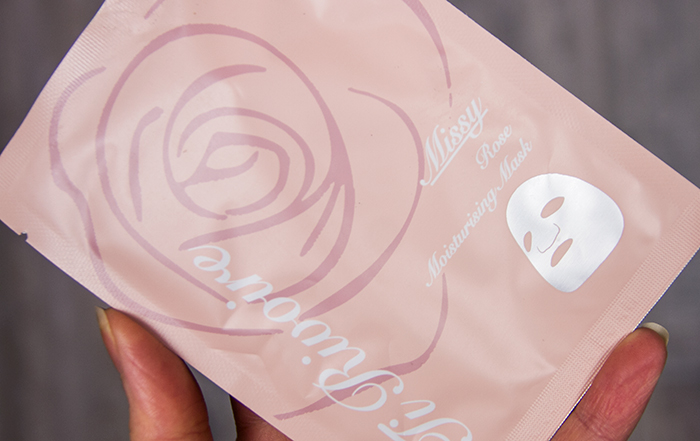 Rose Moisturizing Sheet Mask