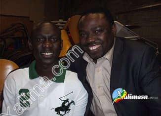Photo Bacary Goudiaby et Pape Diouf