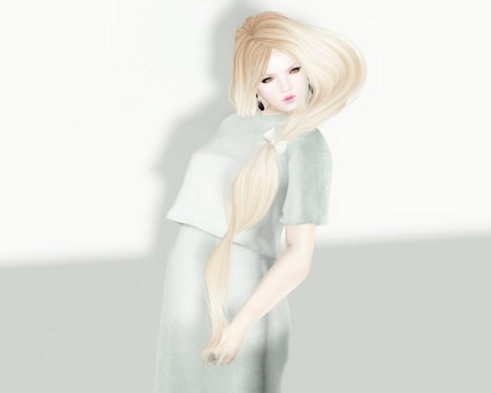 Jersey Dress Mint Front