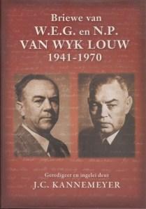 Briewe van W.E.G. en N.P. van Wyk Louw 1941-1970 cover