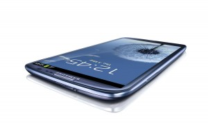 Le superphone Samsung Galaxy S3.
