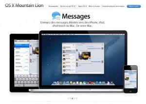Messages pour envoyer des messages sur iPhone, iPad...