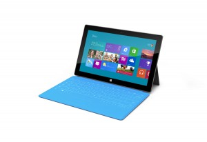 La tablette Surface de Microsoft.