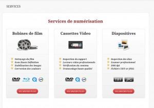 Les services de Cinetis chez Swisscom.