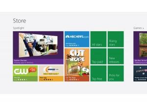 Le nouveau Windows Store.
