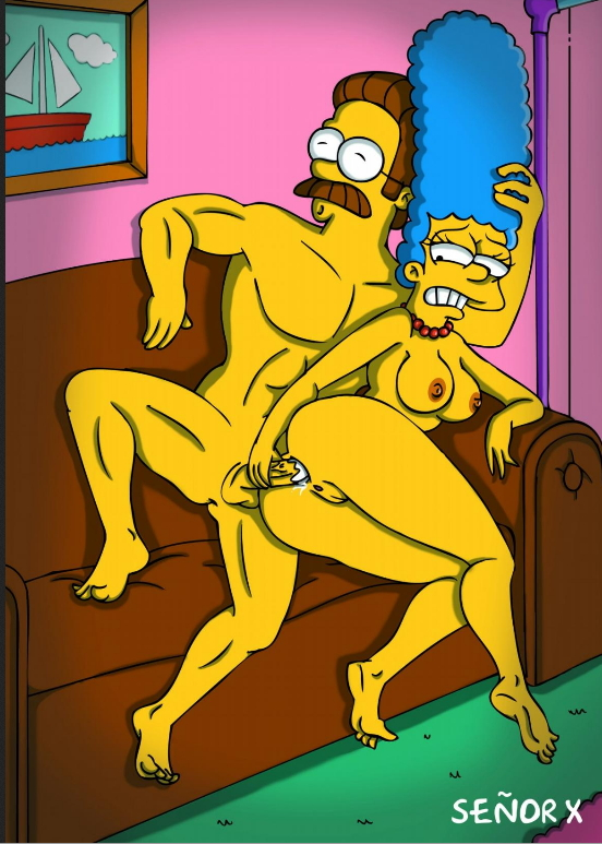 bart and marge simpson porn