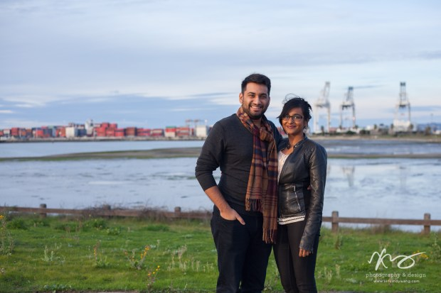Divya Ashi Shoreline Park Oakland Port Engagement-1