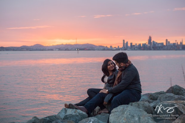 Divya Ashi Shoreline Park Oakland Port Engagement-15
