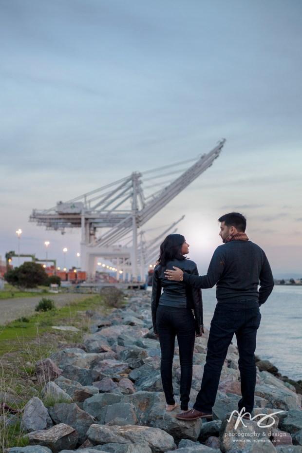 Divya Ashi Shoreline Park Oakland Port Engagement-17