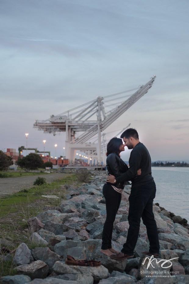 Divya Ashi Shoreline Park Oakland Port Engagement-18