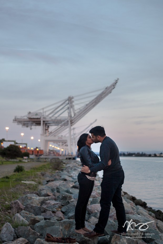 Divya Ashi Shoreline Park Oakland Port Engagement-19