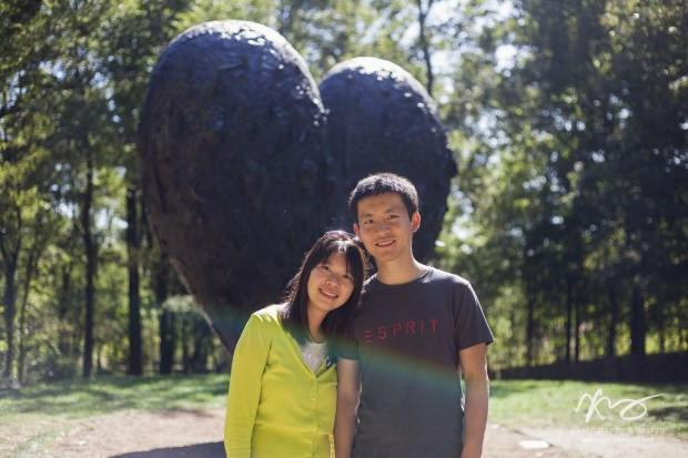 Hann Kun Boston deCordova Sculpture Park Engagement-12