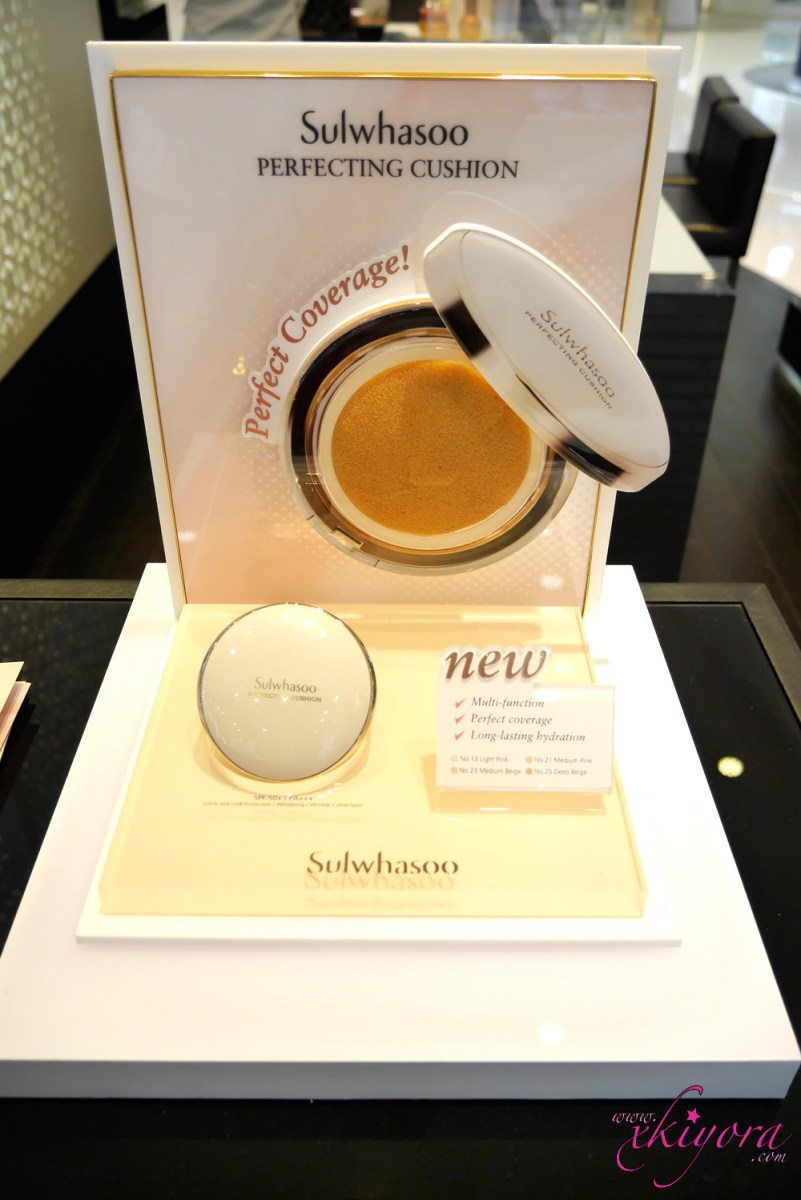 DEWY KOREAN CELEB SKIN by 雪花秀 Sulwhasoo Perfecting Cushion