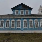 Дом богатого крестьянина И.А.Шешина. Построен в последней четверти 19 века.