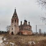 Село Солтаново. Троицкая церковь.