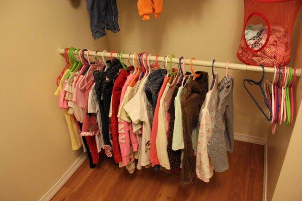 子供 服 収納 100均