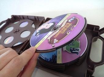 dvd 収納 ボックス 100均