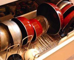 キッチン 鍋 収納 100均 引き出し