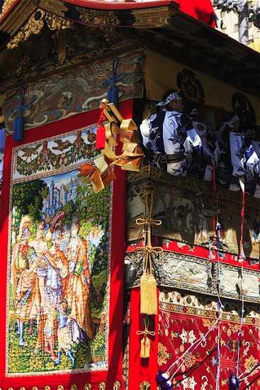祇園祭 山鉾の装飾