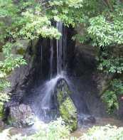 金閣寺 滝
