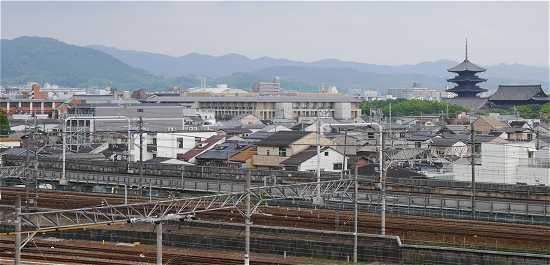 京都鉄道博物館 スカイテラス