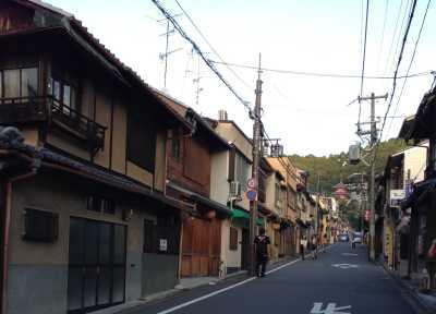 清水新道(茶わん坂)